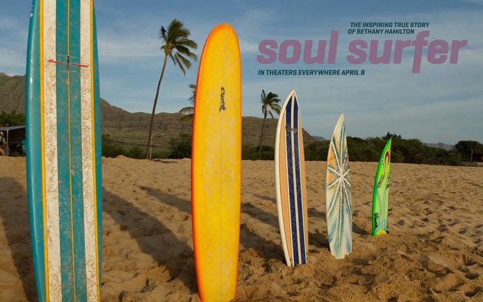 Soul surfer movie poster 7