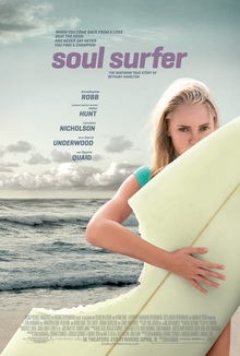 <cite>Soul surfer</cite> movie poster