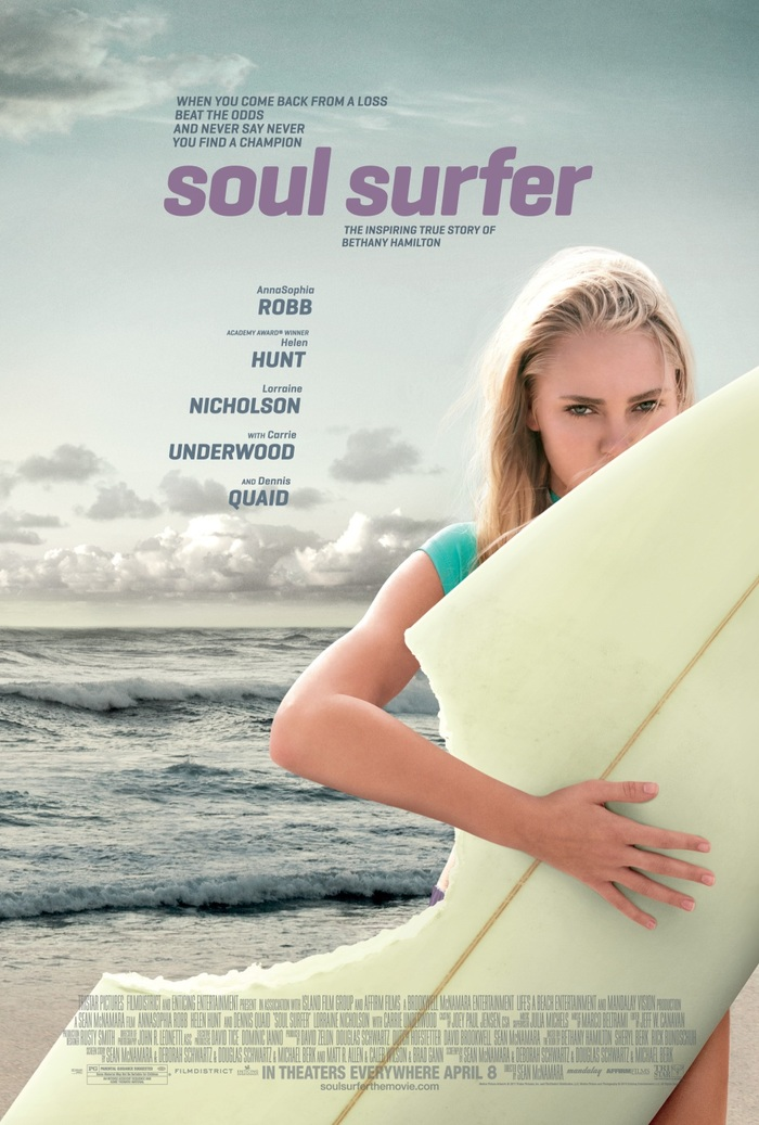 Soul surfer movie poster 1