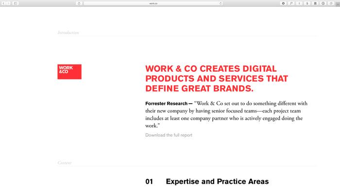 Work & Co. 1