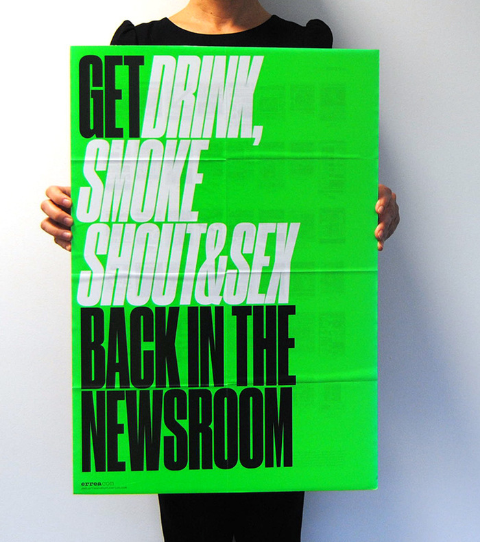 Get Drink, Smoke Shout & Sex back in the newsroom