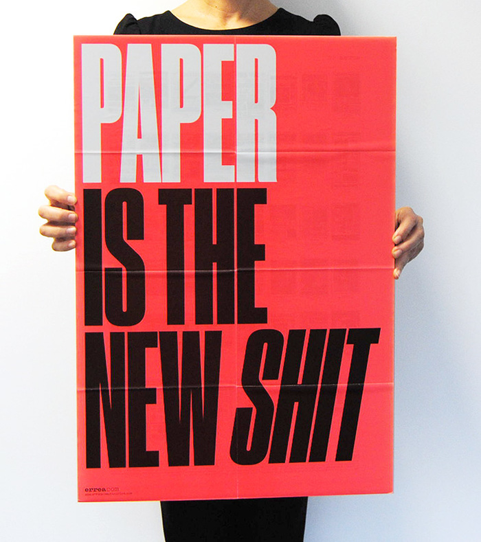 Paper is the New Shit