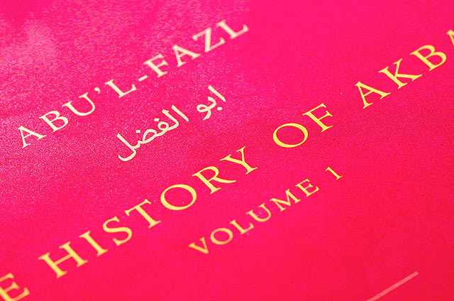 The History of Akbar, Murty Classical Library of India 6