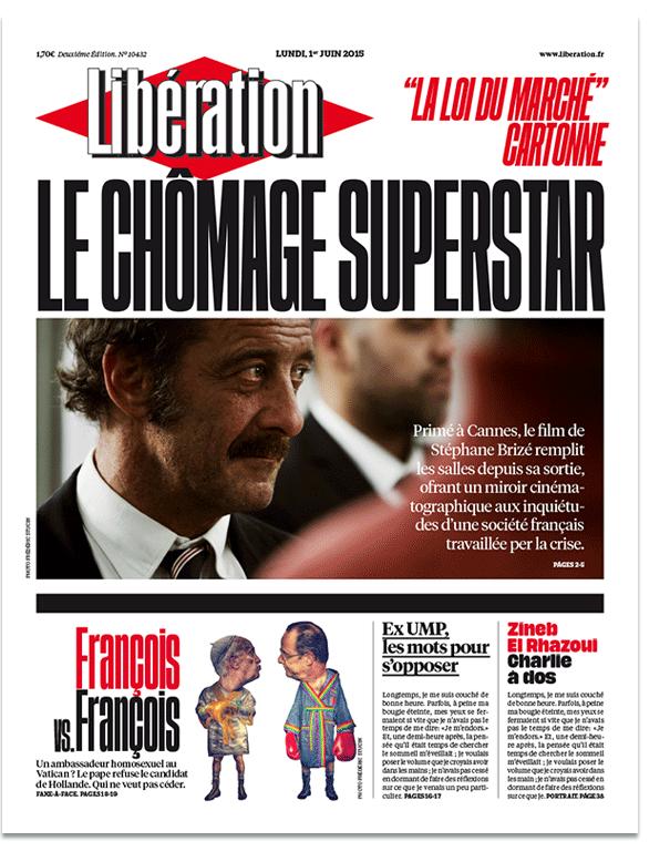 Libération 2015 redesign – a bolder Libé 1