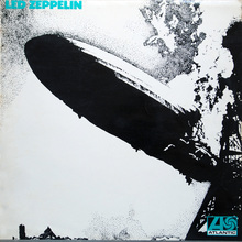 Led Zeppelin – <cite>Led Zeppelin</cite> album art