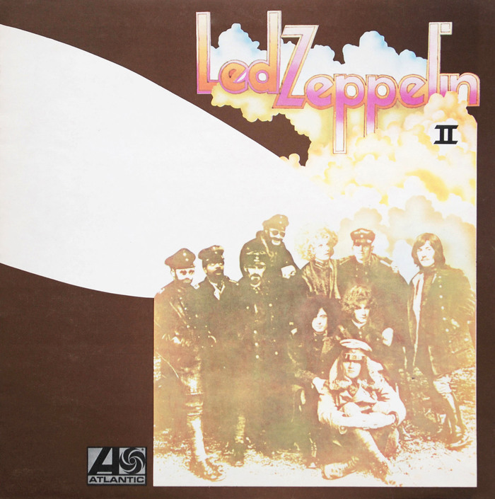 Led Zeppelin II album cover 1