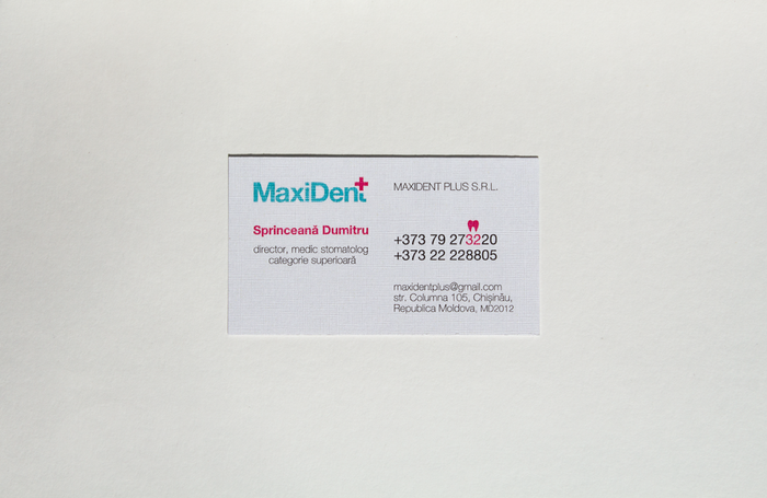 MaxiDent+ logo 1