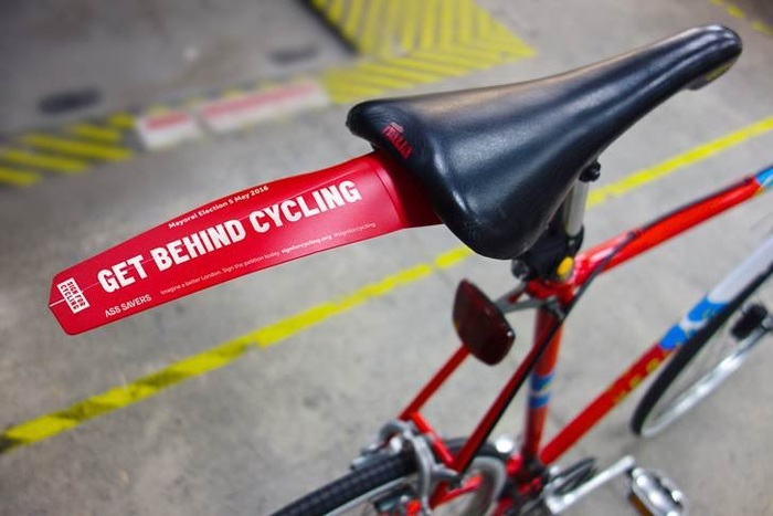 Sign for Cycling campaign 7