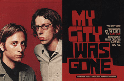 Magnet magazine: The Black Keys