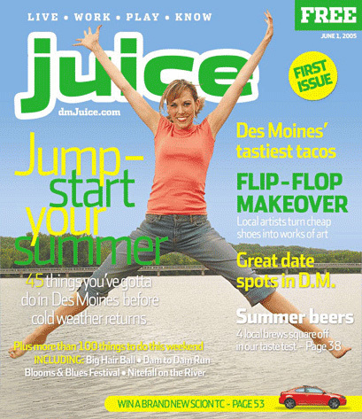 First issue, June 2005