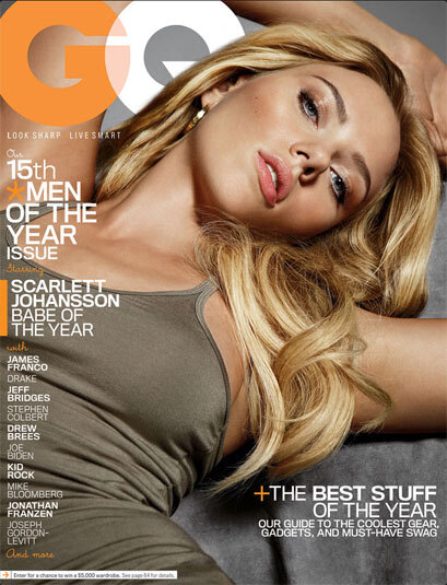 "GQ Dec. 2010 ""Men of the Year"" Covers 1"