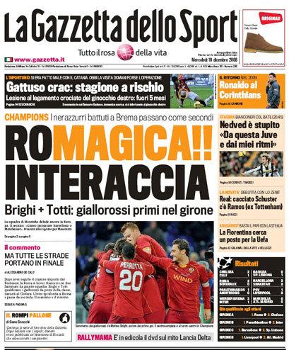 La Gazzetta dello Sport (2008–)