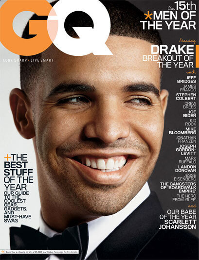"GQ Dec. 2010 ""Men of the Year"" Covers 4"