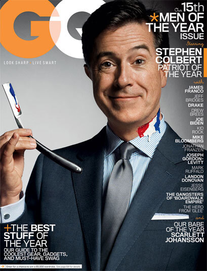 "GQ Dec. 2010 ""Men of the Year"" Covers 3"