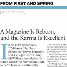 <cite>West</cite> magazine