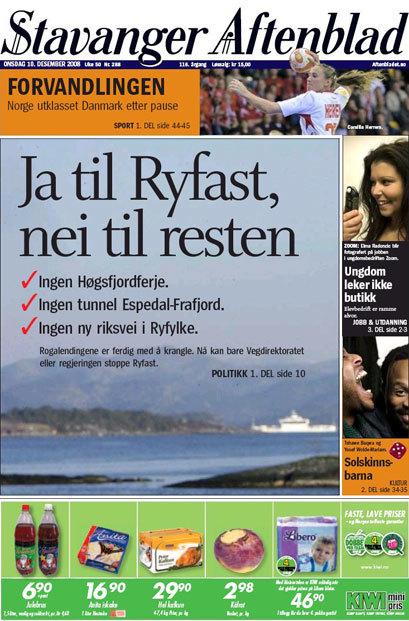 Stavanger Aftenblad 1