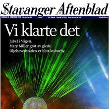 <cite>Stavanger Aftenblad</cite>