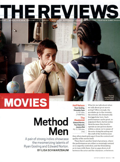 Entertainment Weekly, Oct. 2006 2