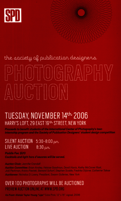 2006 SPD Photography Auction 2