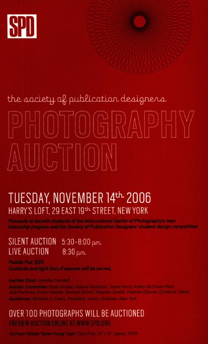 2006 SPD Photography Auction 2