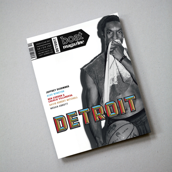"Boat Magazine, Issue 2 ""Detroit"" 2"