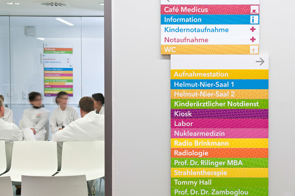 Offenbach Hospital Signage System 1