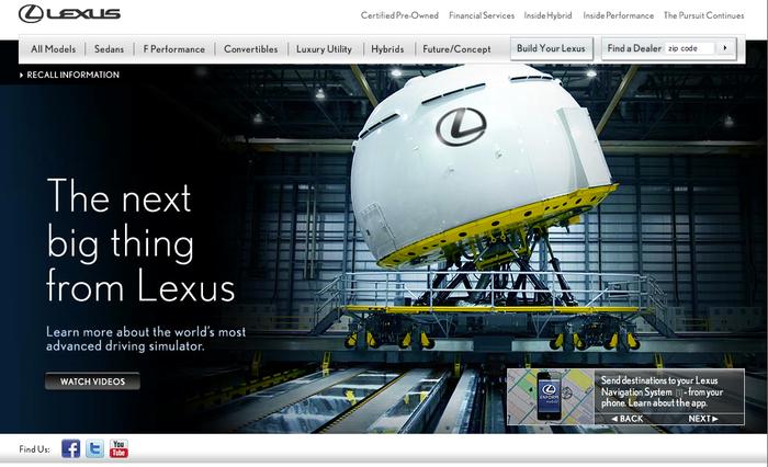 Lexus.com 1