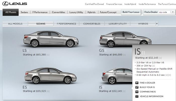 Lexus.com 4