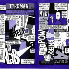 <cite>Typoman</cite> comic