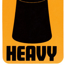 "Air New Zealand ""Heavy"" Luggage Tag"