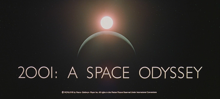 2001: A Space Odyssey (1968) title