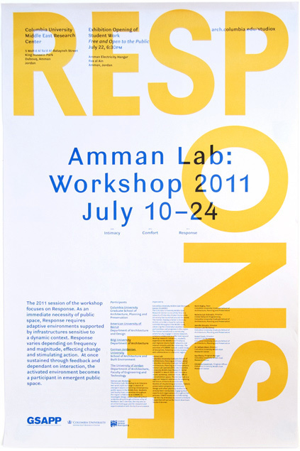 Studio X Amman Workshop Poster 1