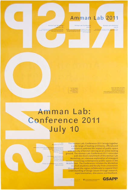 Studio X Amman Workshop Poster 2