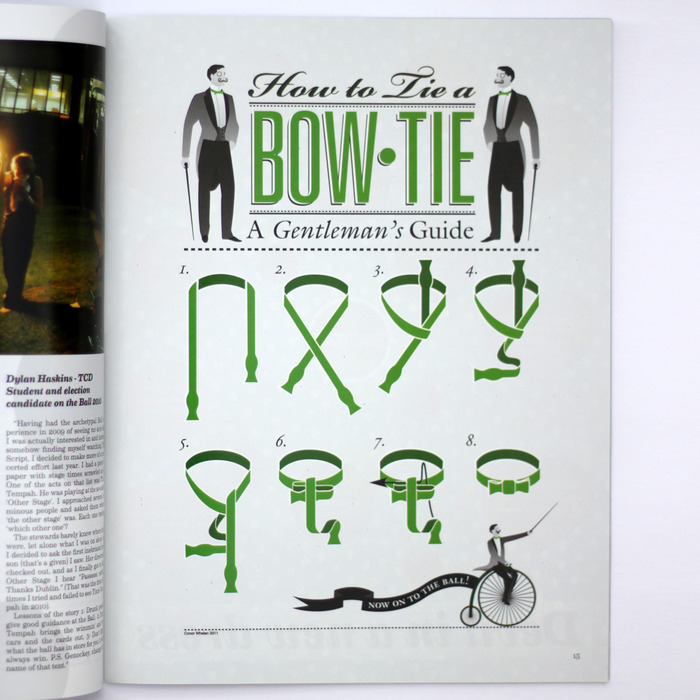 How to Tie a Bow-Tie 1