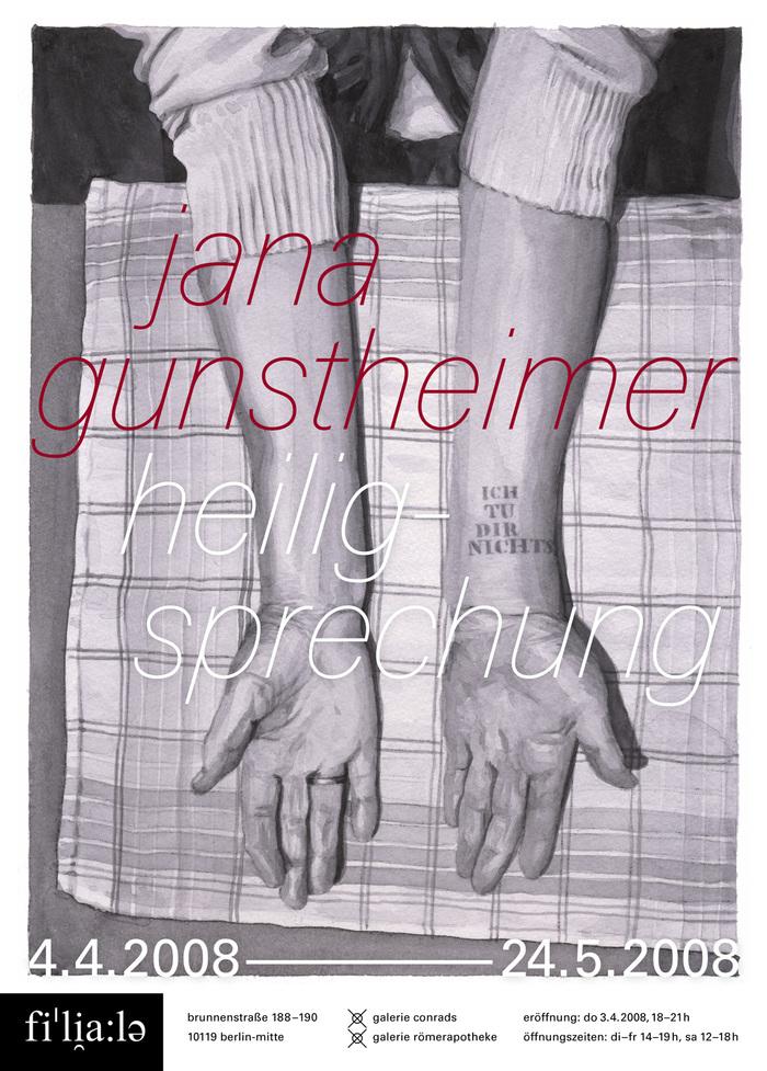 Jana Gunstheimer: Heiligsprechung