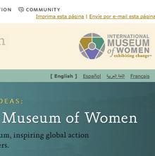 International Museum of Women website