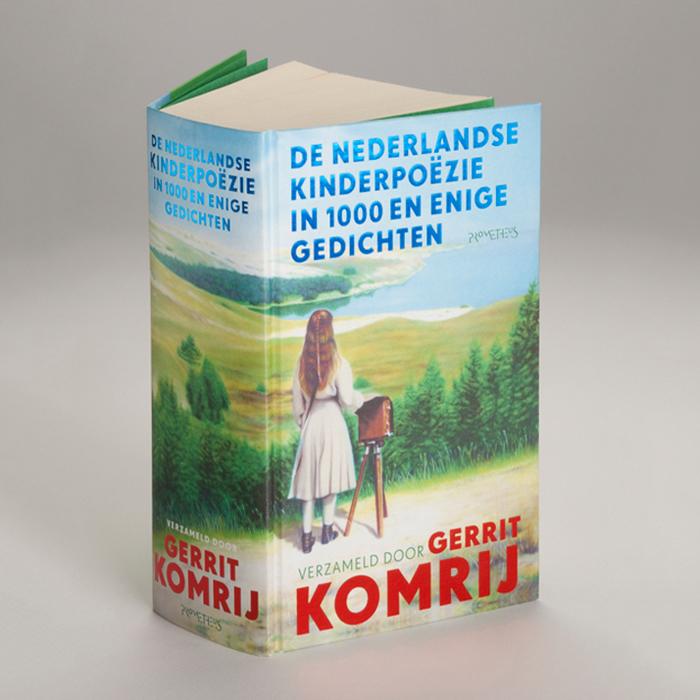 De Nederlandse kinderpoëzie in 1000 en enige gedichten; Gerrit Komrij; illustration by Hanna Mattes, Sommeralbum I, 2006.