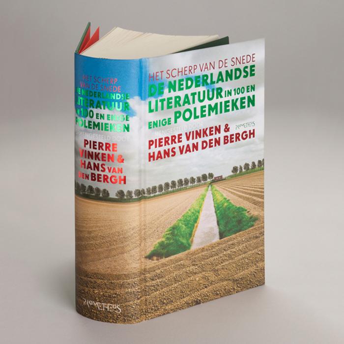 De Nederlandse literatuur in 100 en enige Polemieken; Pierre Vinken & Hans van den Bergh; photo by Mischa Keijser.