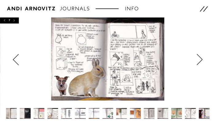 Andi Arnovitz Journals 1