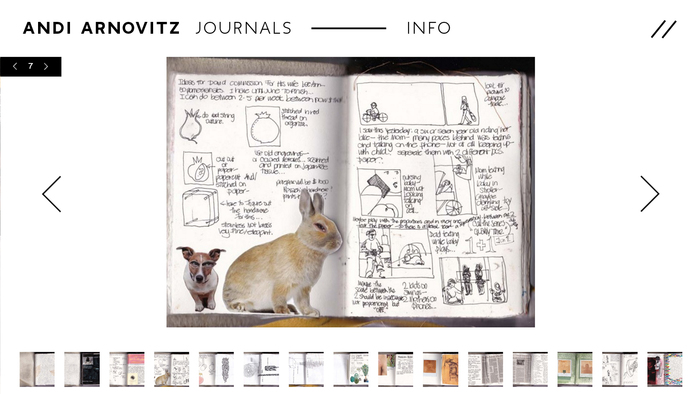 Andi Arnovitz Journals 1