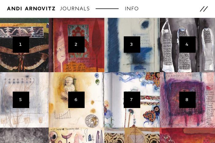 Andi Arnovitz Journals 2