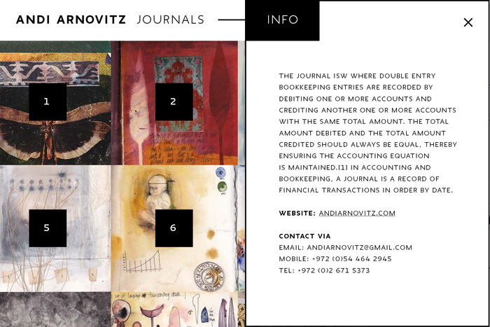 Andi Arnovitz Journals 3