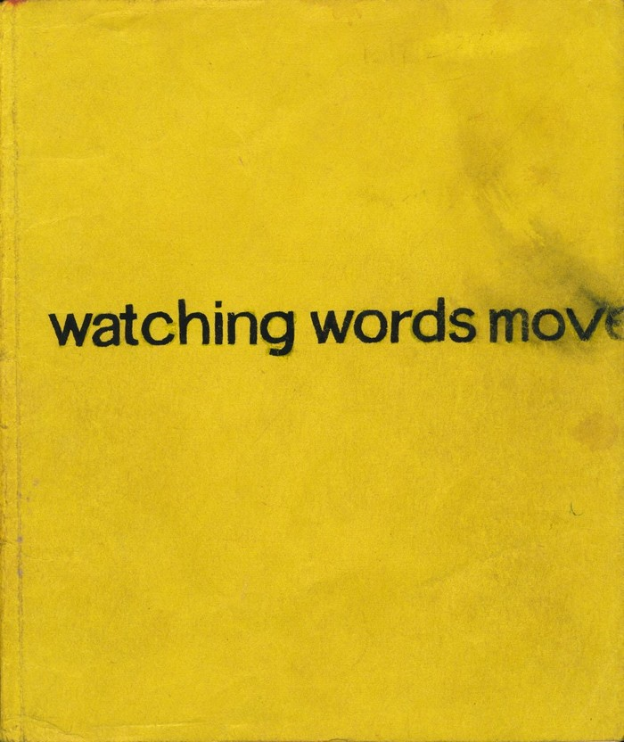 Watching Words Move 2