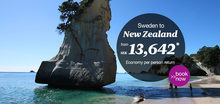 Air New Zealand web ads
