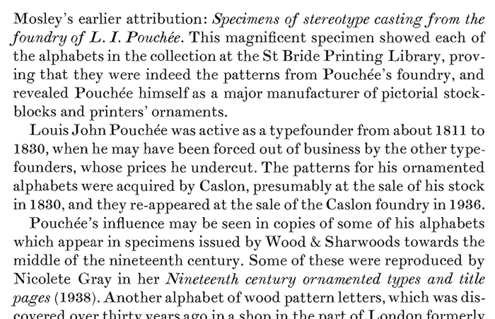 Prospectus text, set in Scotch Roman Series 137.