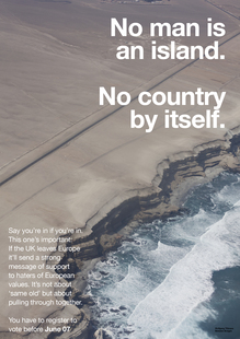 EU Campaign by Wolfgang Tillmans