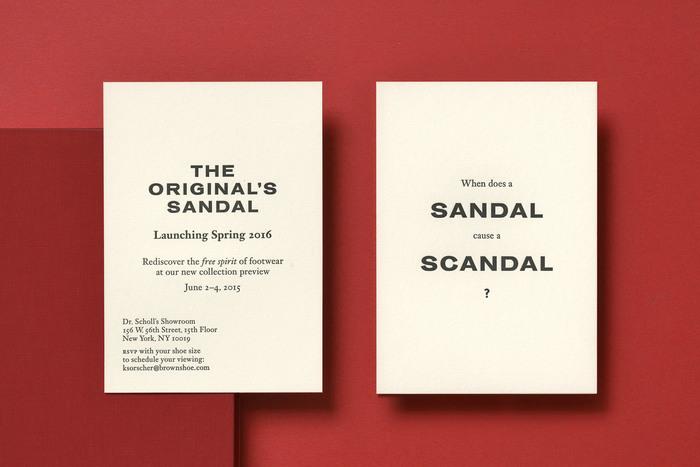 The Original's Sandal, Dr. Scholl's 1