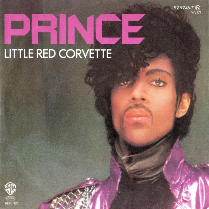 "Prince – ""Little Red Corvette"" German single sleeve"