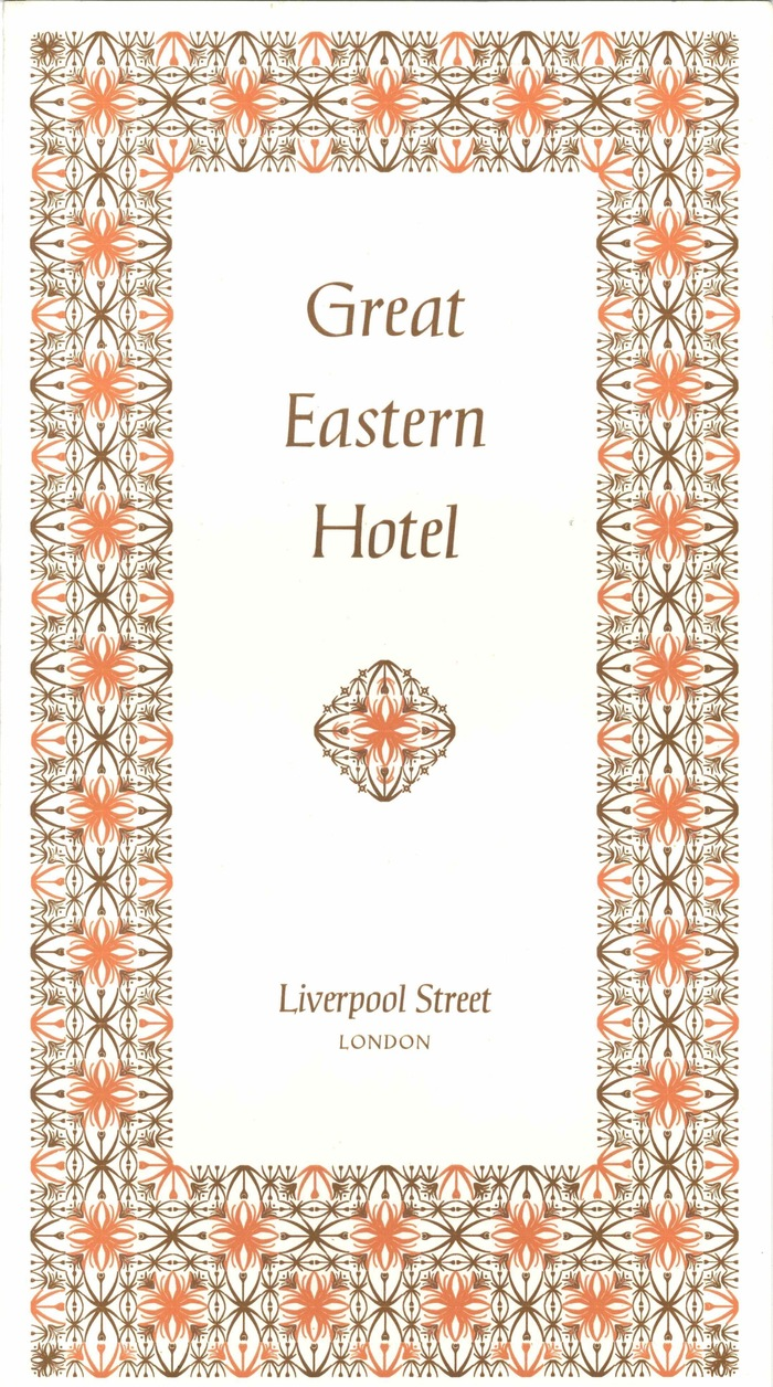 British Transport Hotels menu cards 1