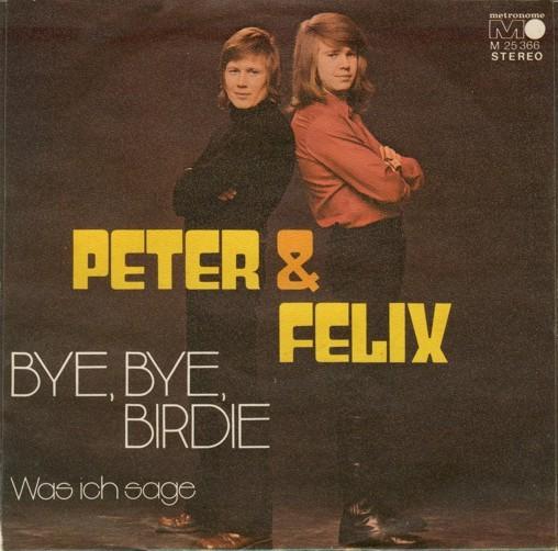 """""""Bye Bye Birdie"""" / """"Was ich sage"""" – Peter & Felix"""